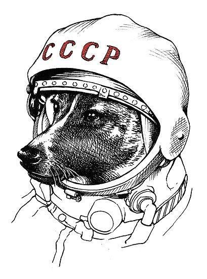 Laika, Weltraumreisende von Celeste Ciafarone