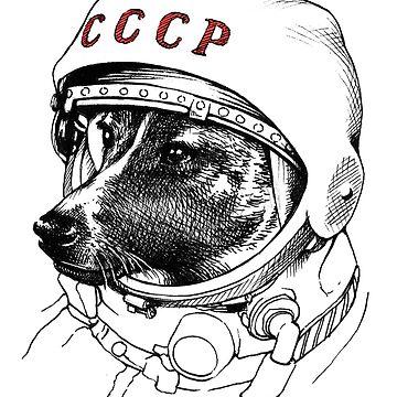 Laika, space traveler de celestecia