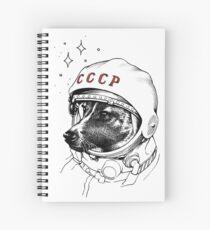 Cuaderno de espiral Laika, space traveler