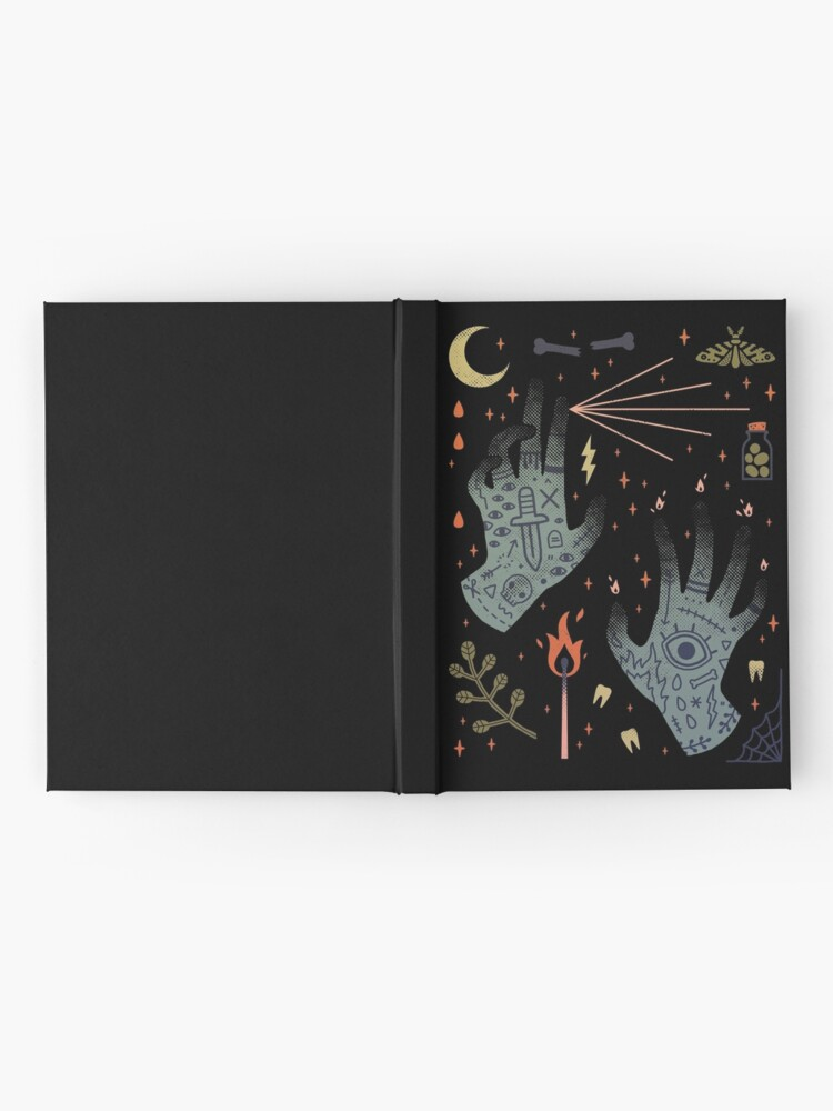 Alternate view of A Curse Upon You! Hardcover Journal