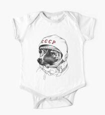 Laika, Weltraumreisende Baby Body Kurzarm