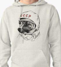 Laika, space traveler Pullover Hoodie