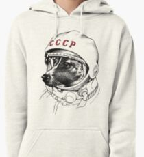 Laika, Weltraumreisende Hoodie