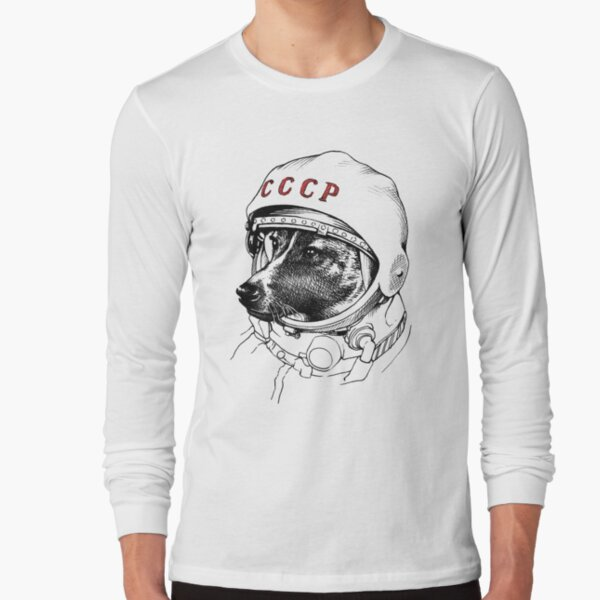 Laika, space traveler Long Sleeve T-Shirt