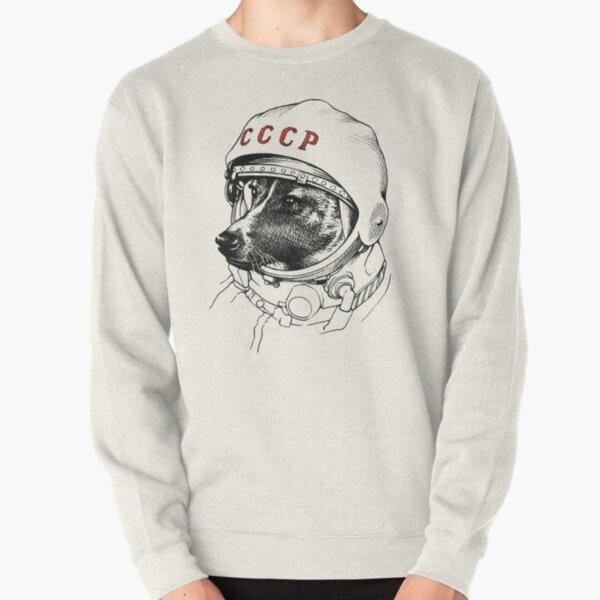 Laika, space traveler Pullover Sweatshirt