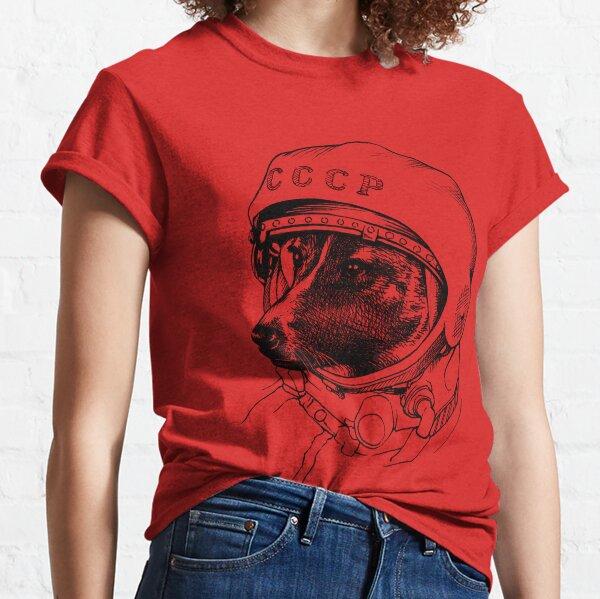 Laika, space traveler Classic T-Shirt
