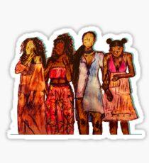 Girlfriends Sticker