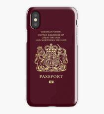UK Passport iPhone Case/Skin