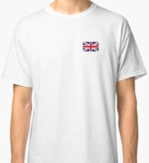 UNION JACK, SMALL, Pure & Simple, Flag of the United Kingdom, Britain, British flag, Blighty Classic T-Shirt