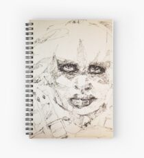 Simplefader- Character32 Spiral Notebook