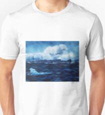 Tory Island, Wild Irish Sea. Landscape Painting T-Shirt