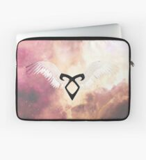 The mortal instruments : Shadowhunter rune - Angelic Power with wings Laptop Sleeve