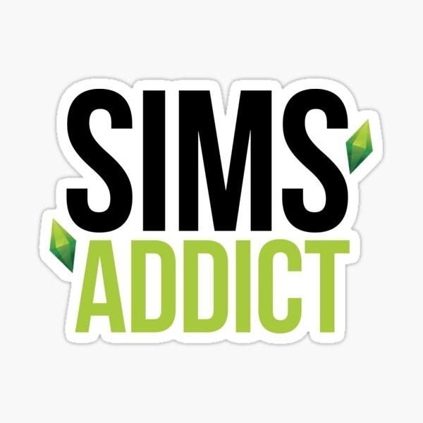 SIMS ADDICT Sticker