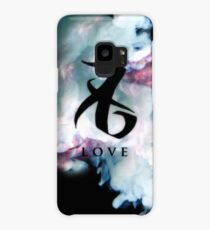 The mortal instruments : Shadowhunter rune in colour cloud - Love Case/Skin for Samsung Galaxy
