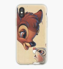 Sweet Bambi and Thumper iPhone Case