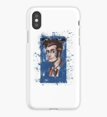 Tenth Lord of Time iPhone Case/Skin