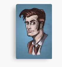 Tenth Lord of Time Canvas Print