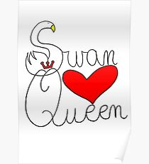 Swan Queen love Poster