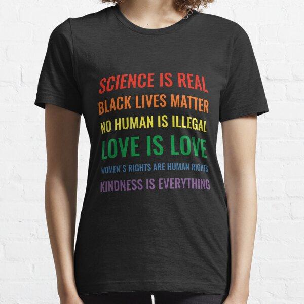 les droits des femmes sont des droits humains T-shirt essentiel