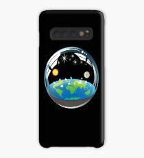 Funda/vinilo para Samsung Galaxy Burbuja de tierra plana