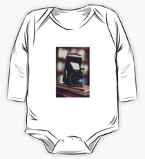 Vintage Folding Camera One Piece - Long Sleeve