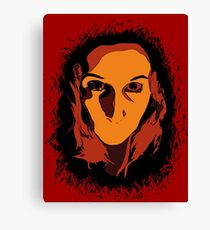 Horror! Canvas Print