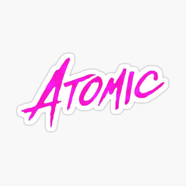 Atomic Blonde Sticker