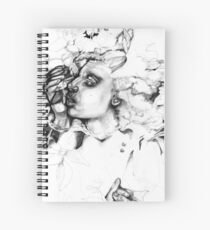 Simplefader- Character23 Spiral Notebook