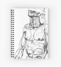 Simplefader- Character11 Spiral Notebook