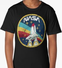 Nasa Vintage Colors V01 Long T-Shirt