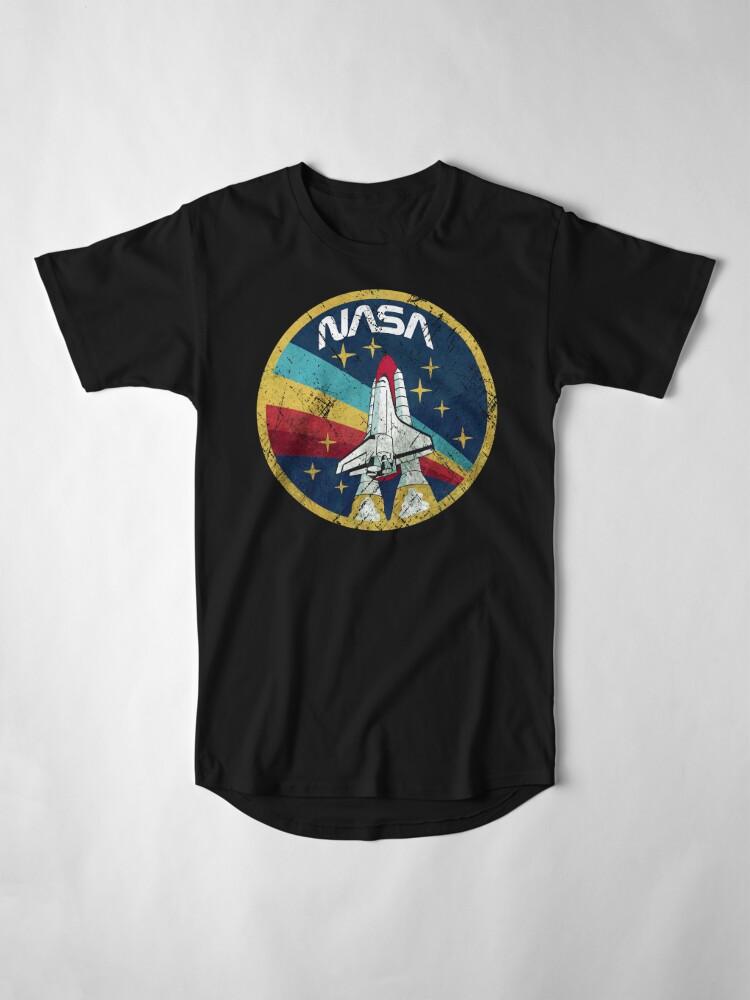 Alternate view of Nasa Vintage Colors V01 Long T-Shirt