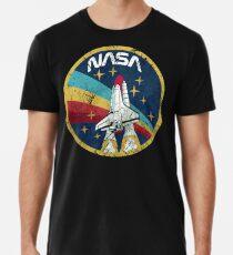 Camiseta premium para hombre Nasa Vintage Colors V01