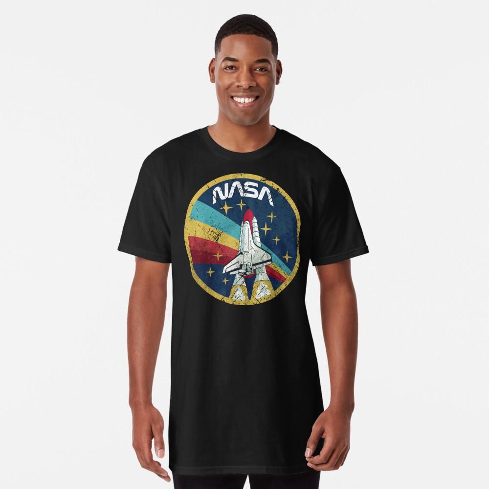 Nasa Vintage Colors V01 Long T-Shirt
