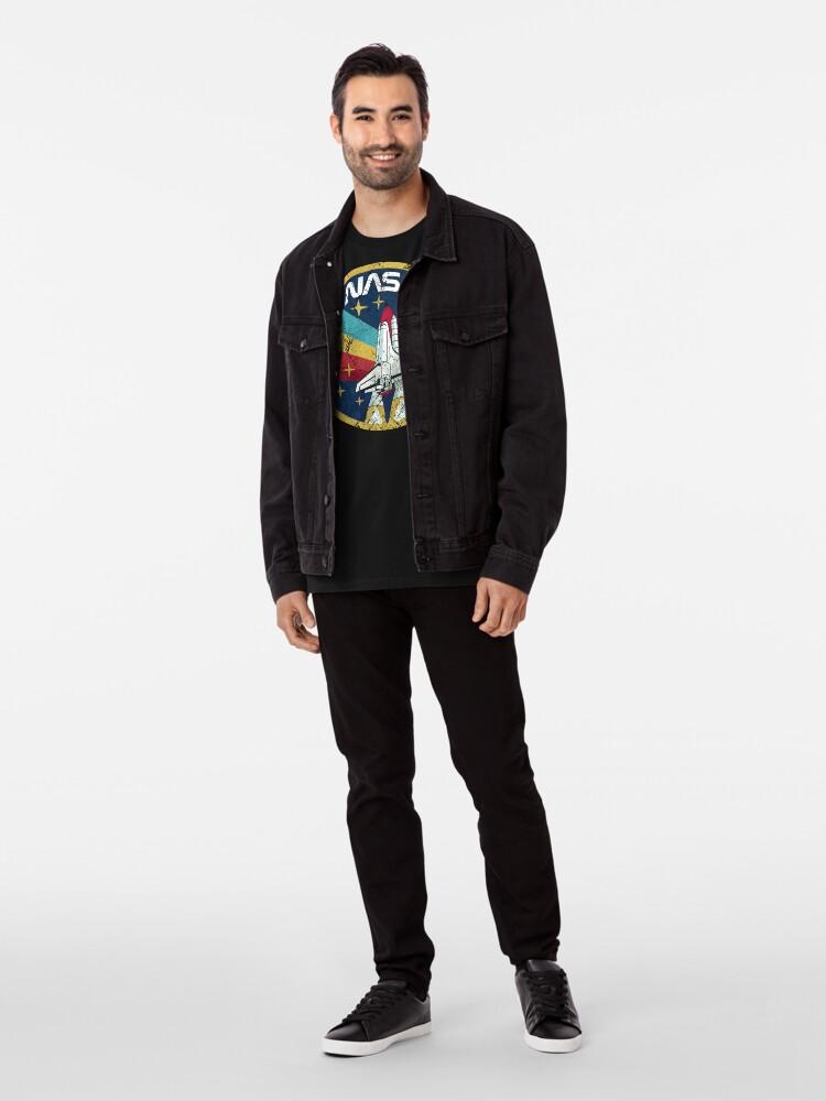 Alternate view of Nasa Vintage Colors V01 Premium T-Shirt