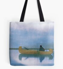 Kutenai duck hunter - American Indian Tote Bag