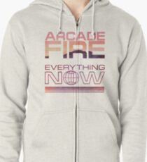 Arcade Fire - Everything Now Zipped Hoodie