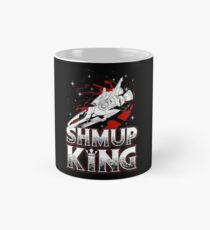 SHMUP King Gift Idea For Gamers Video Game Lovers Players Gaming Ceramic Mug