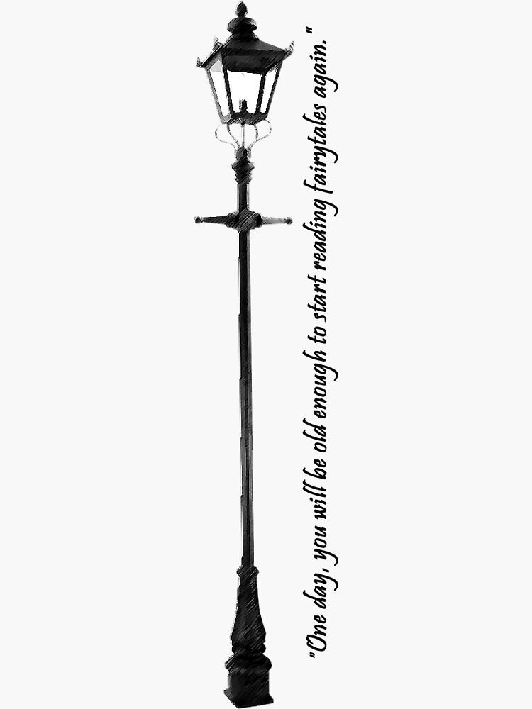 Narnia Lamppost by selenroseblack