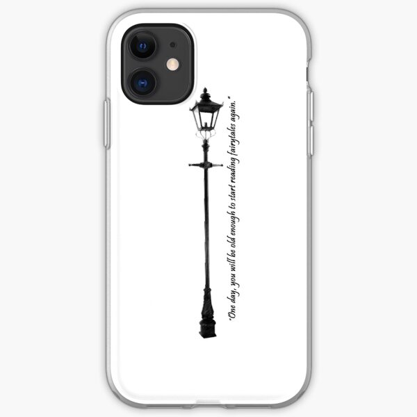 Narnia Lamppost iPhone Soft Case