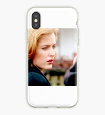 The X Files Scully Still Work iPhone Case