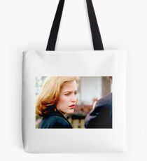 The X Files Scully Still Work Tote Bag