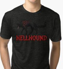 Hellhound Guardian of the Underworld Tri-blend T-Shirt