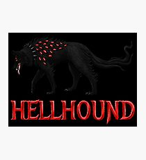 Hellhound Guardian of the Underworld Photographic Print