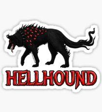 Hellhound Guardian of the Underworld Sticker