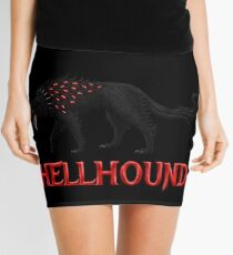 Hellhound Guardian of the Underworld Mini Skirt