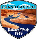 GRAND CANYON NATIONAL PARK ARIZONA COLORADO RIVER RAFTING KAYAK by MyHandmadeSigns