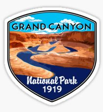 GRAND CANYON NATIONAL PARK ARIZONA COLORADO RIVER RAFTING KAYAK Sticker