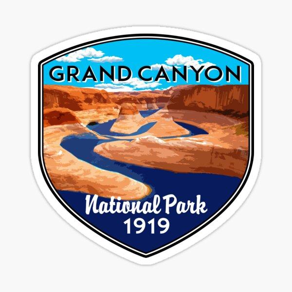 GRAND CANYON NATIONAL PARK ARIZONA COLORADO RIVER RAFTING KAYAK Sticker