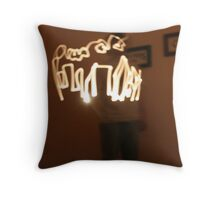 Building with Light Throw Pillow