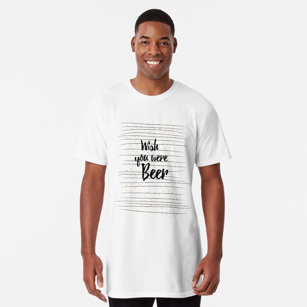 Wish you were Beer Longshirt Vorne